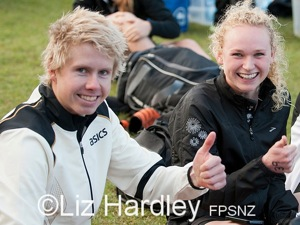 thumbs up for Sam Ward & Sophie Corbidge