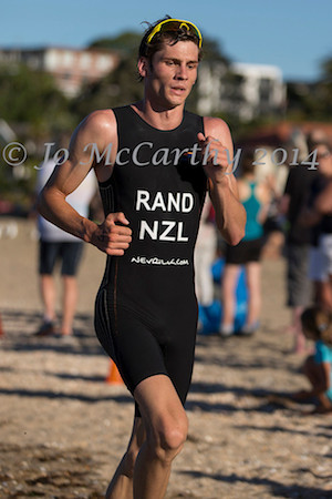 and Cooper Rand's fastest run of the day got him in front