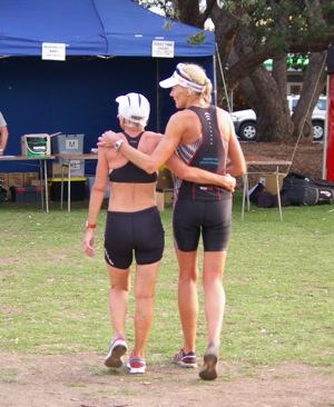 Yet again Tiare and Lorene win their Age Groups and already start plotting for next season