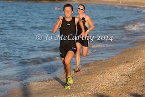 despite the gallant chase of Rose Dillon and Claire Macky