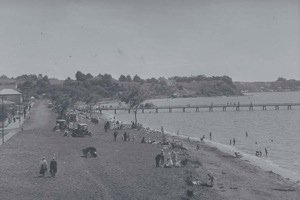 getting a park close to the beach wasn't an issue in the early years