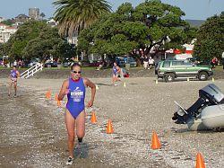 Fiona Docherty has overtaken Anna Cleaver